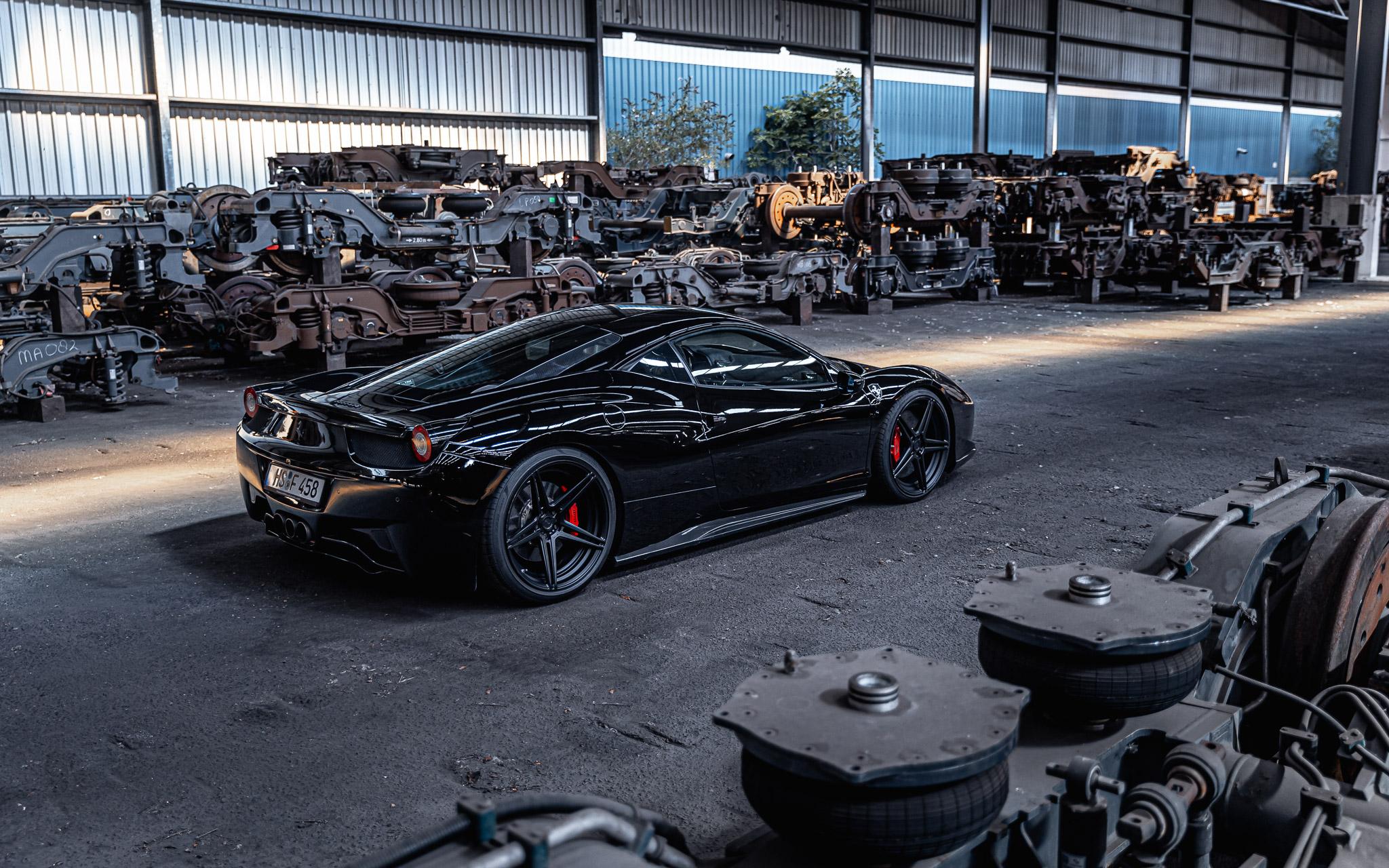 Hart voor auto's  – Ferrari 458 Italia